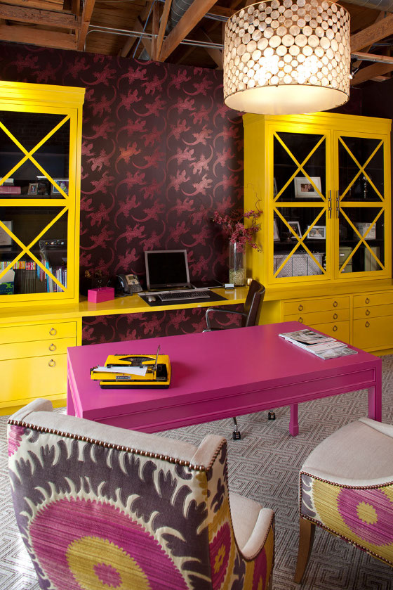 contemporary-pink-and-yellow-study-1