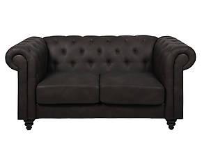 divano in ecopelle con chaise longue a soinistra Camilla su dalaniù.jpg posti stile chester divina nero su dalani