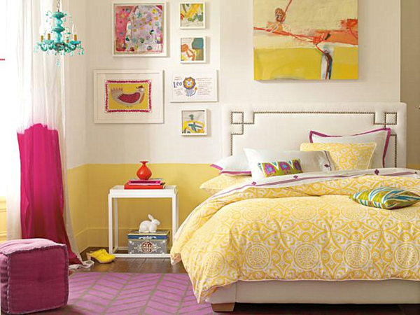modern-eclectic-teen-girls-bedroom