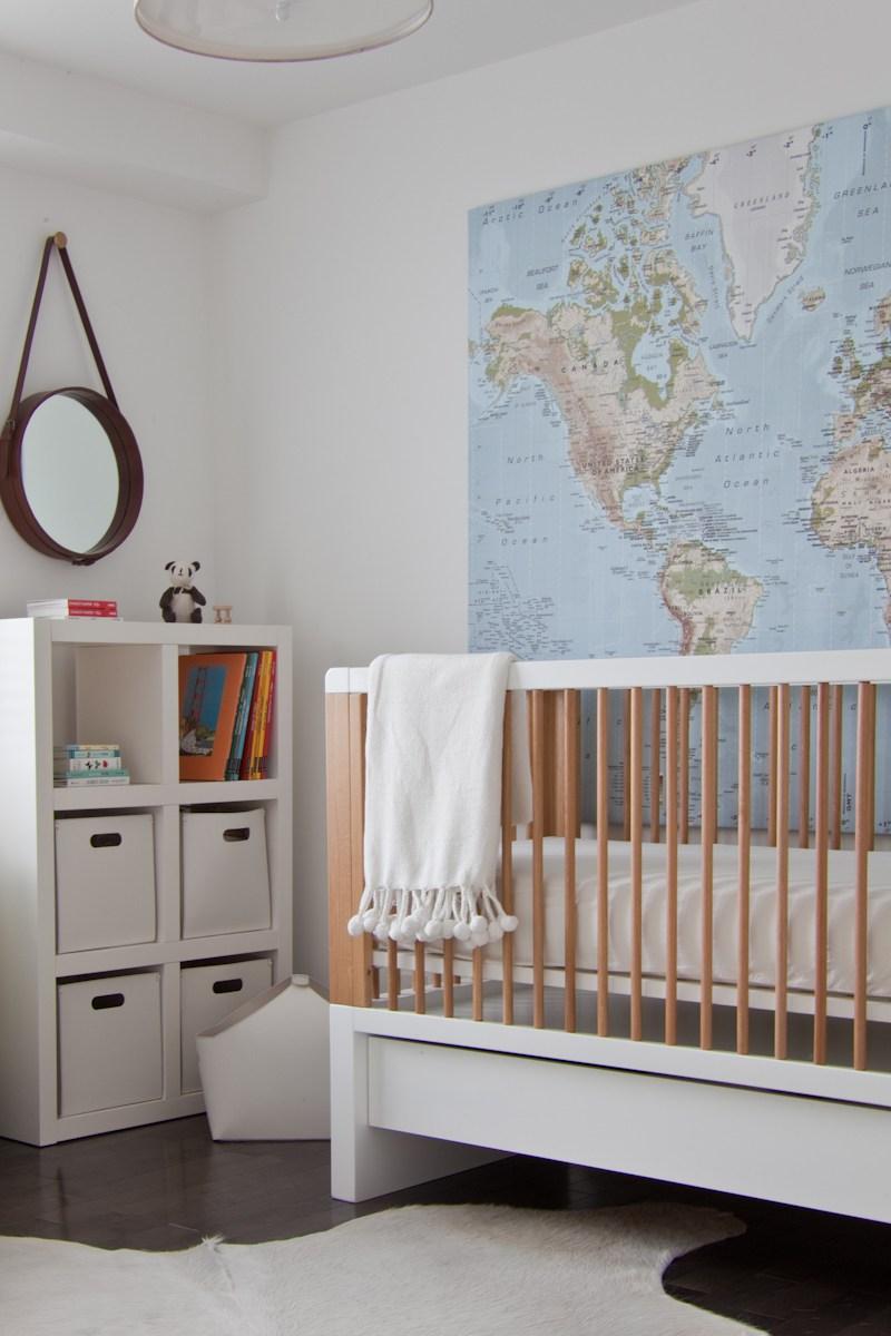 Come arredare la nursery in modo moderno e non scontato - Mobile fasciatoio ikea ...