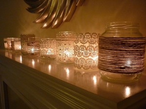 candele barattoli-illuminati