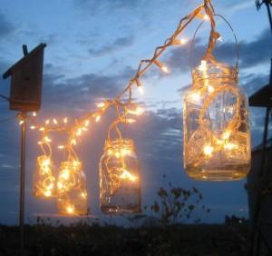 candele lucine Barattoli-di-vetro-per-illuminare-