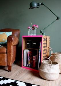 colore casse-frutta-divano
