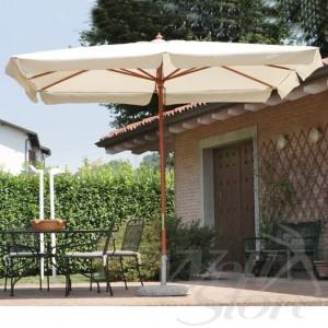 copertura ombrellone bianco classico vince sempre su lionshome