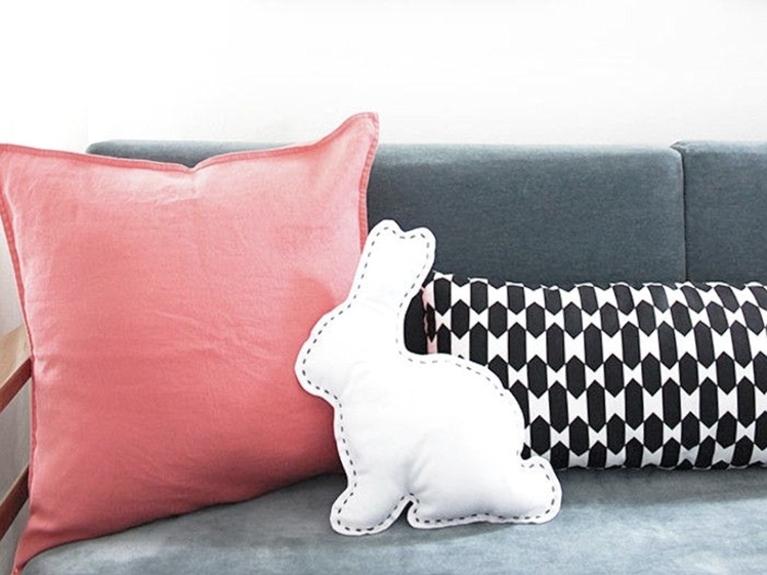 cuscino coniglio fai da te