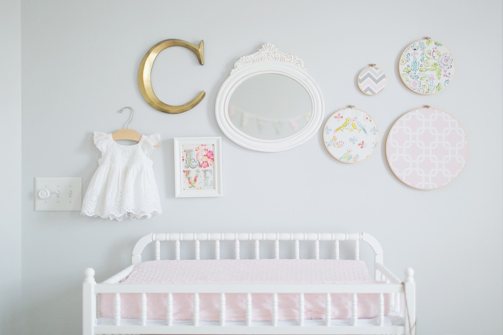 parete decoro parete Sweet-Caroline's-Nursery