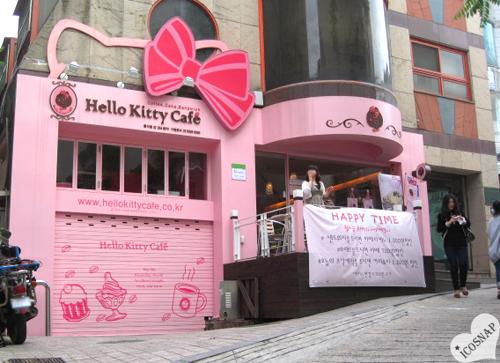 Hello-Kitty-Café-in-Seoul questo si che è un posto veramente kawaii!!