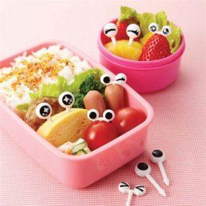 .amazon kawaii Spiedini occhi kawaii per scatole porta pranzo Bento