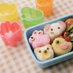 .amazon kawaii Stampi modella riso coniglio orso elefante Bento Onigiri