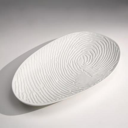 complementi Fingerbowl è un disegno di Judith Seng a base di porcellana che vengono in finitura bianco satinato