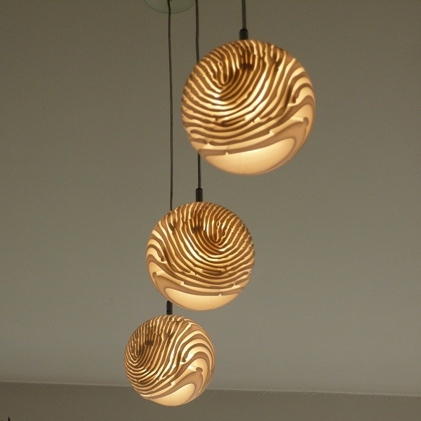 design complementi impronte the Fingerprint Lamp by Dan Yeffet2