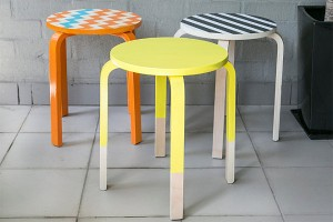 frosta Custom-painted-stools