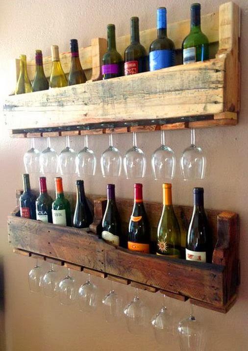 .porta bicchieri e porta bottiglie