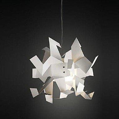 .amazon Lampade a sospensione 220v bianco origami creativo gru di carta