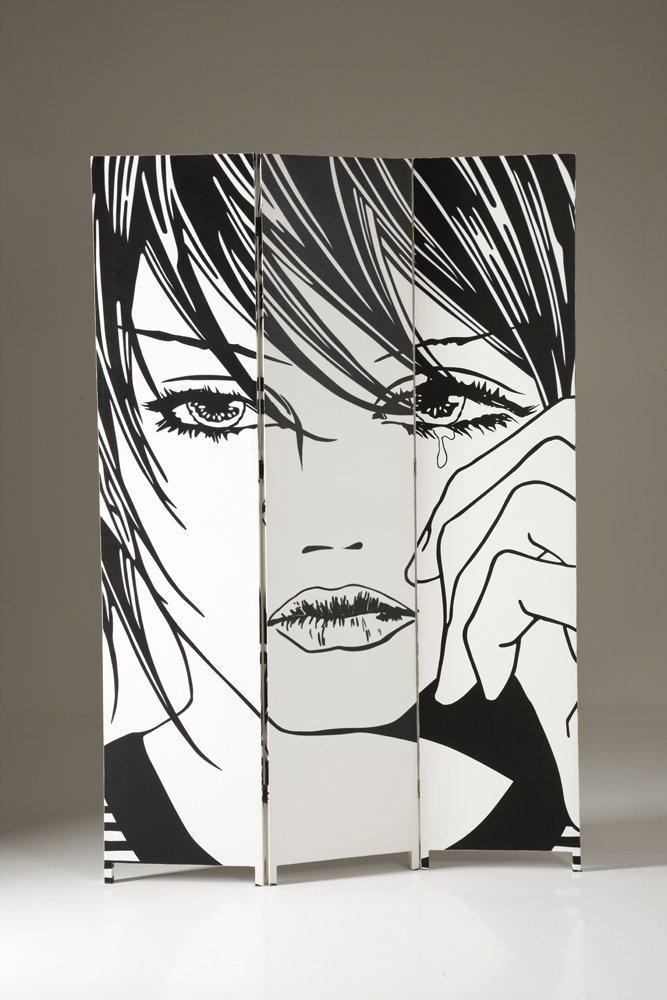 .amazon Separè paravento stampa su tela Comics 116.00