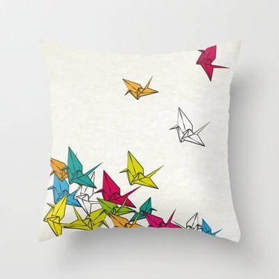 .amazon cuscino origami
