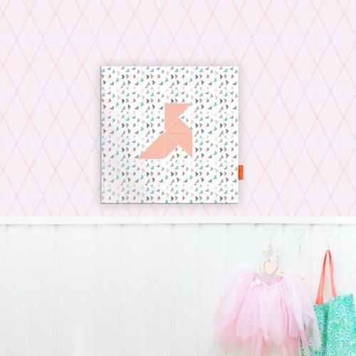 .amazon decorazione a parete origami di Loveiswall diverse misure