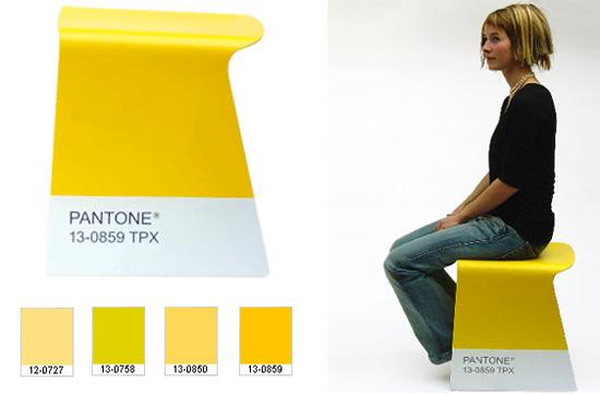 arredam flight stool' per pantone edizione limitata design BarberOsgerby