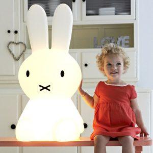 coniglio Giant Miffy lampada