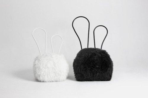 coniglio questo proigetto del designer corano del designer coreano Seungji Mun è ispirato alla morbidezza dei conigli