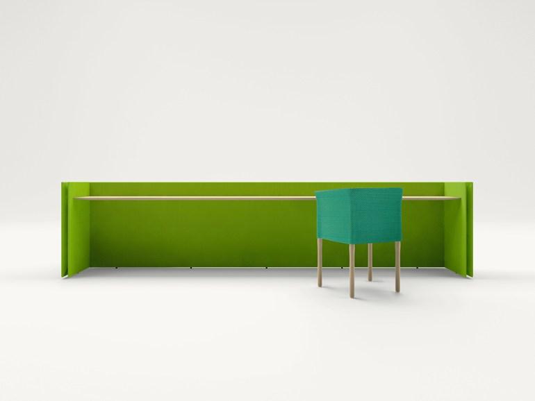 design Pannello divisorio free standing, design by Francesco Rota per paola lenti