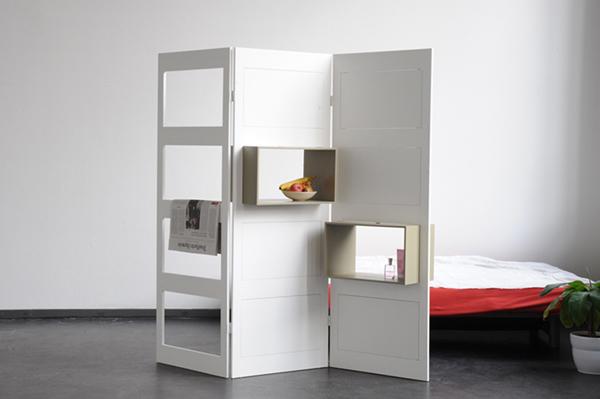 8 modi per usare un paravento o separ architettura e - Paravento camera da letto ...