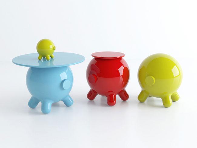 maiale Piggy Bank moderno design della collezione Pogo