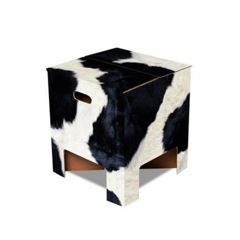 mucca Sedia sgabello, tavolino La Ducth Design Chair è tutti e tre in cartone onulato