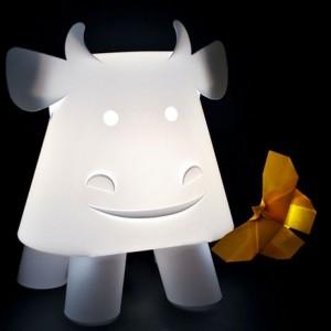 mucca lampada di officinacrea