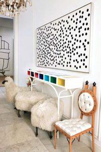 pecora seduta design pecorelle pouf dell'artista lalanne sono state vendute per la cifra di 4.8 milioni di $ !
