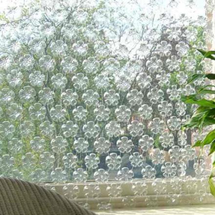 riuso tenda_bottiglie-plastica