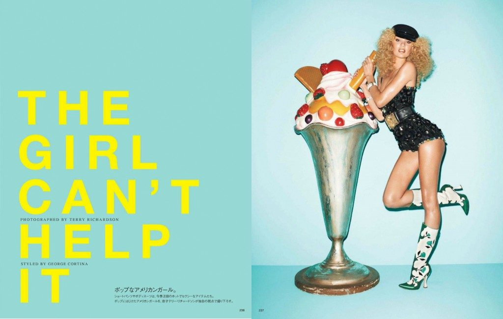 terry richardson, ice cream passion