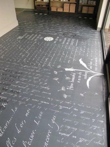 STANCIL scritte-sul-pavimento