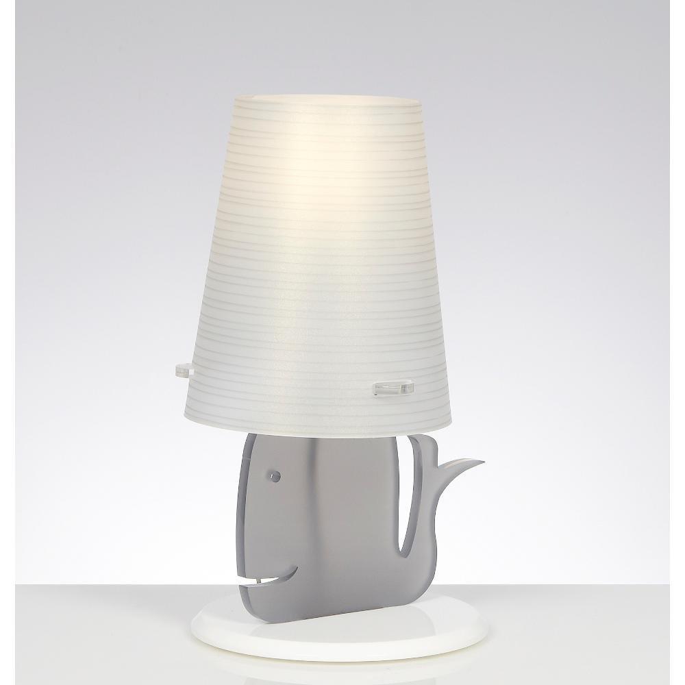 .amazon by EMPORIUM CL329 Balenalamp lampada da tavola grigio opal 95.00