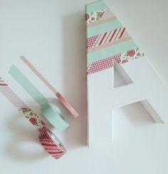 decorazione lettera polistirolo