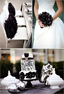 matrimonio silver_and_black_wedding_ideas