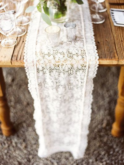 matrimonio table-runner