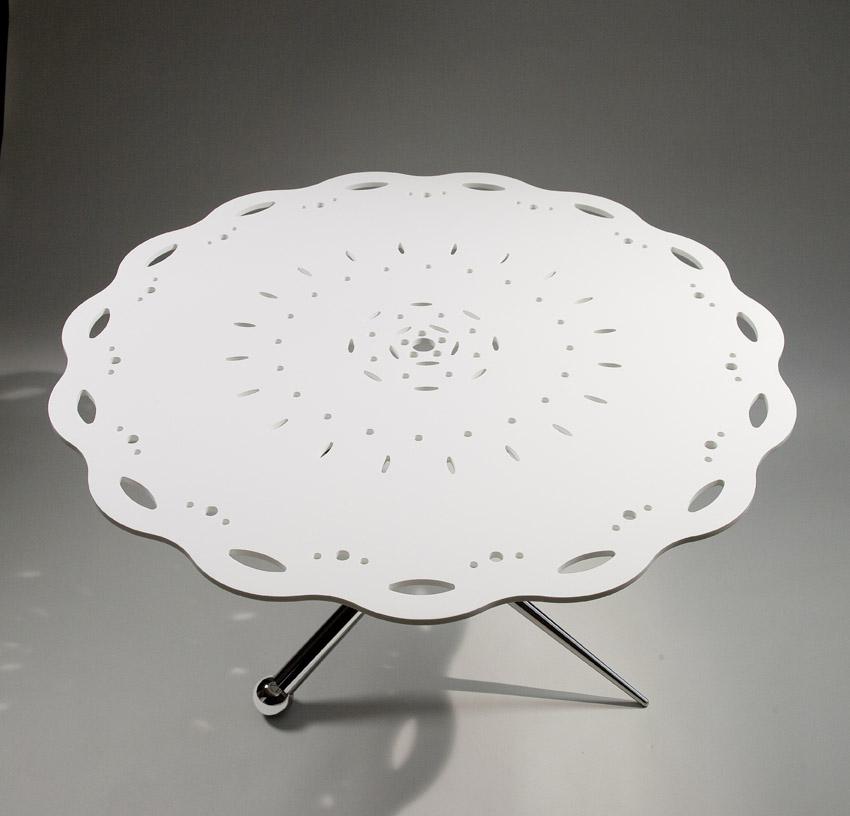 moderno complementi moderno tavolo tricot di lorenzettomei