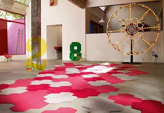 moquette vorwerk s'color spash quadrotti realizzati in collaboraz con esprit