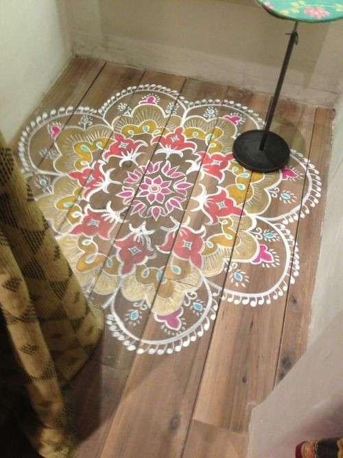 stencil pavimento-decorato-con-stencil