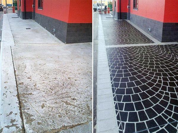 stencil-per-rinnovare-i-pavimenti_N2 Ideal Work propone la soluzione Stencil