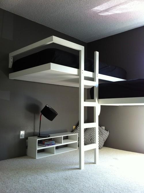 SOPPALCO originale a castello se tutti e due vogliono stare in alto camera ragazzi moderna e minimale