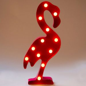 .amazon Flamingo Led Light Lampada Fenicottero Rosa sass&belle