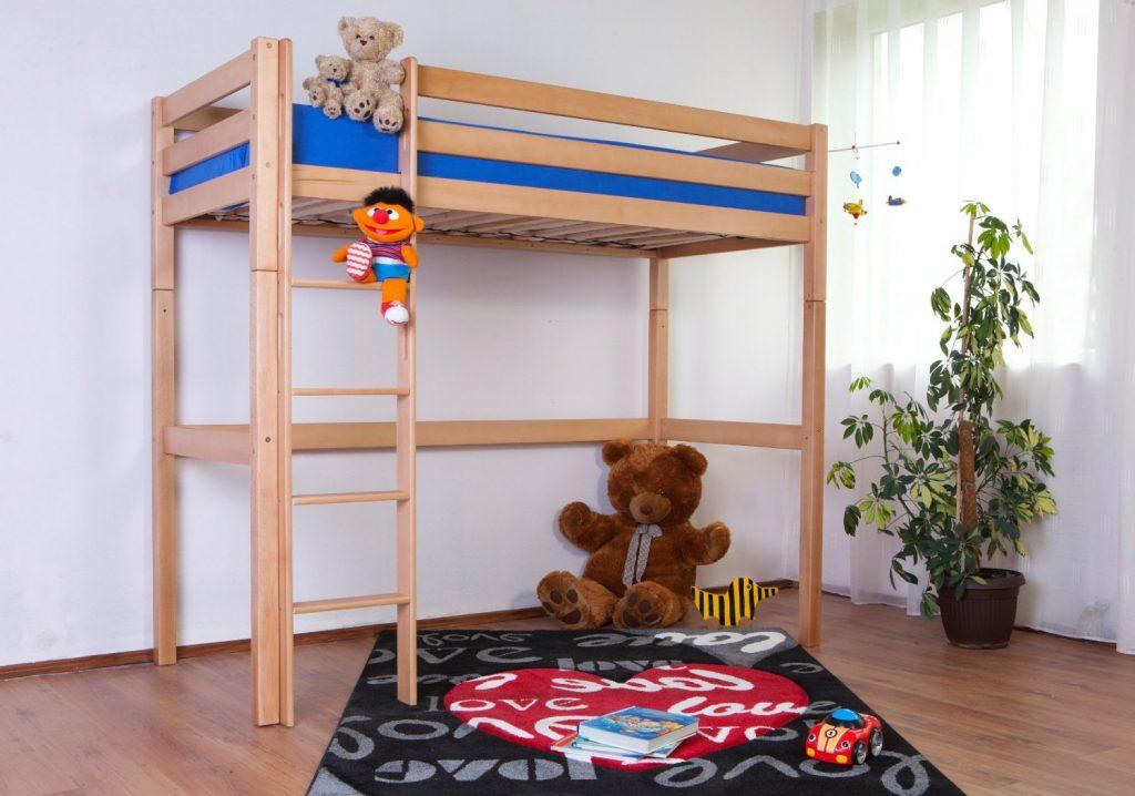.amazon letto sopalco legno