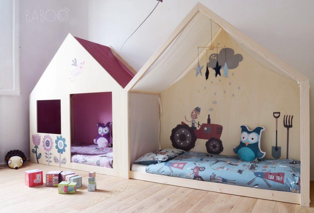 Lettini Per Bambini 2 Anni : Soluzioni per una cameretta doppia architettura e design a roma