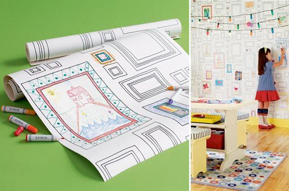 Carta Parati Da Colorare.Carta Da Parati Frames Wallpaper Tante Cornici Da Colorare E Riempire Di Disegni Architettura E Design A Roma