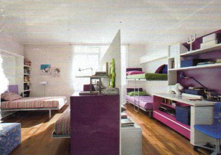 10 soluzioni per una cameretta doppia – architettura e design a roma