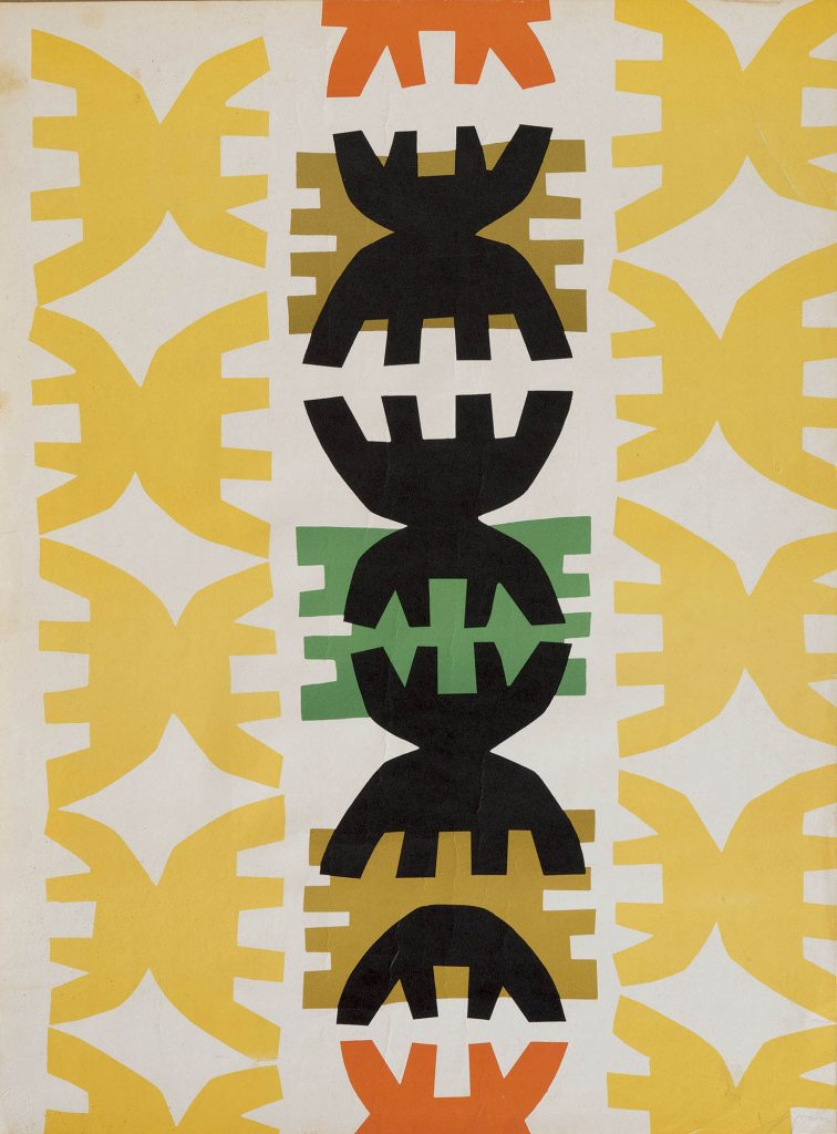 giuseppe capogrossi quarzo n°3 1970 litografia a colote con timbro a secco dello stampatore erker presse st gallen e firma a matita