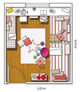 sflzato con letto a soppalco per guadagnare spazio armadio (1)