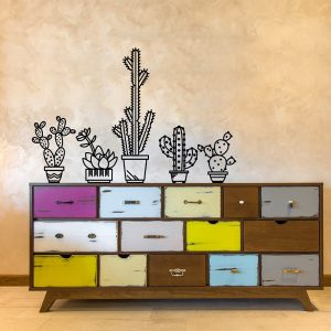 amazon-01365-adesivo-murale-wall-art-piante-grasse-misure-100x66-cm-nero-decorazione-parete-adesivi-per-muro-carta-da-parati